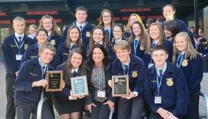 Pittsfield FFA Chapter Wins National Title