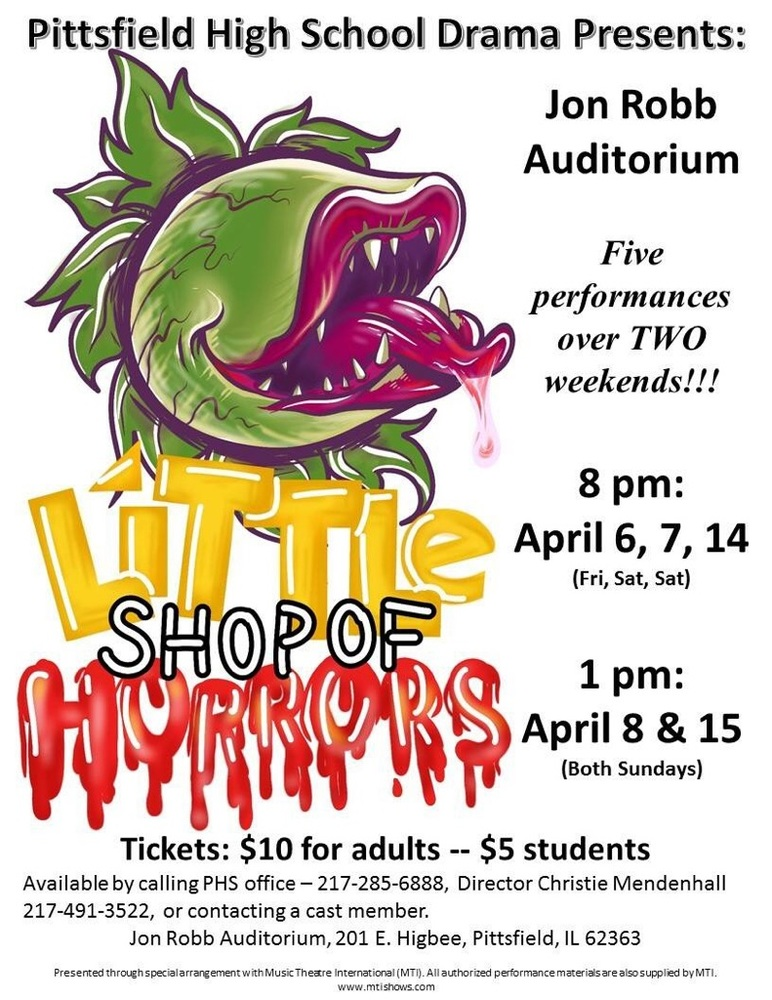 Little Shop of Horrors: Time Changes