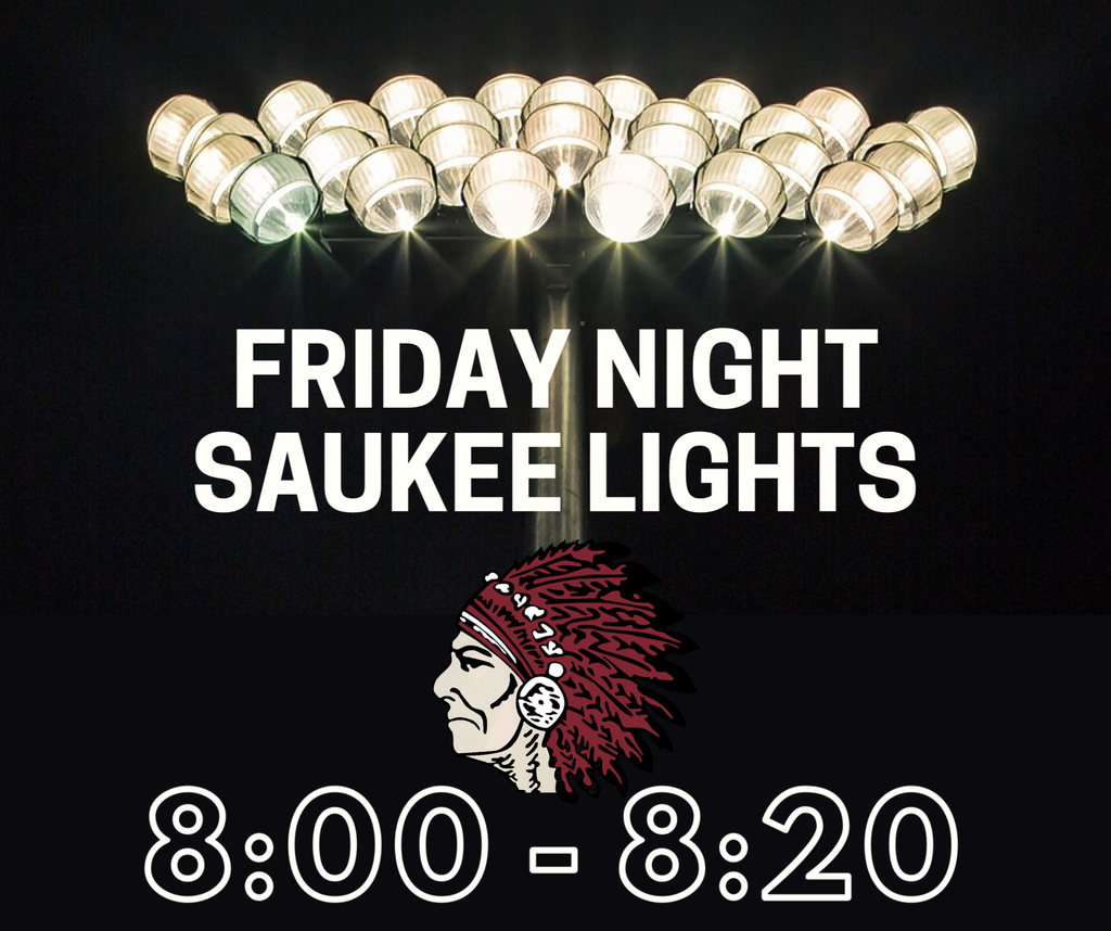 Friday Night Saukee Lights